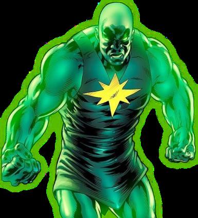 radiactive man