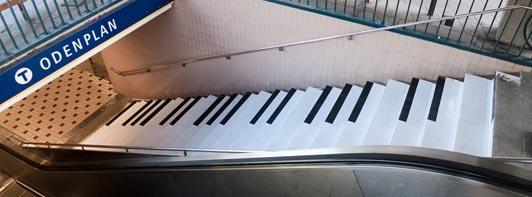 Escada Piano Odenplan Stockholm