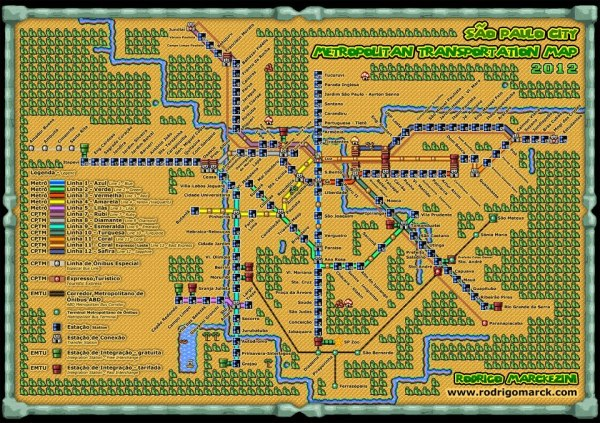 Super Mario CPTM world
