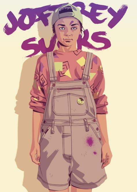 Arya Stark - old series