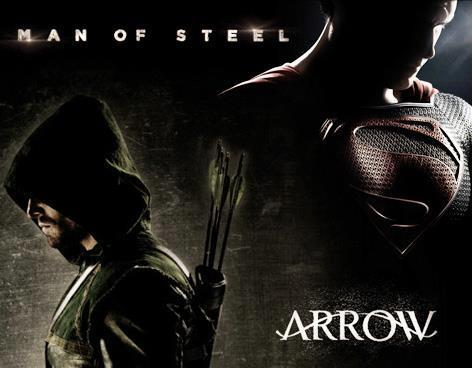 Arrow_and_Man_of_Steel