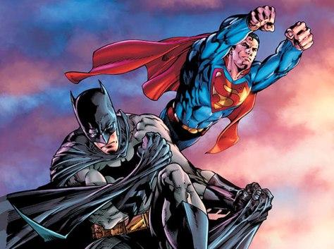 Batman/Buperman #68 comic book cover art by D.C. Comics