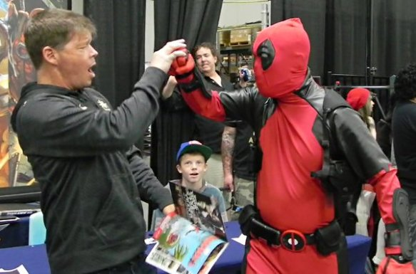DEADPOOL I'M YOUR FATHER