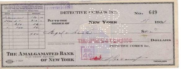 """""""O Cheque que comprou o Superman"""""""