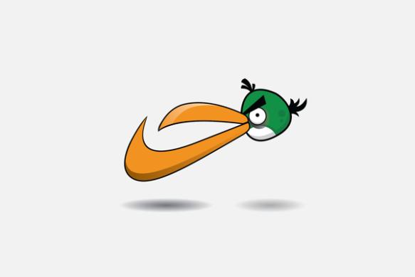 Angry Birds Nike