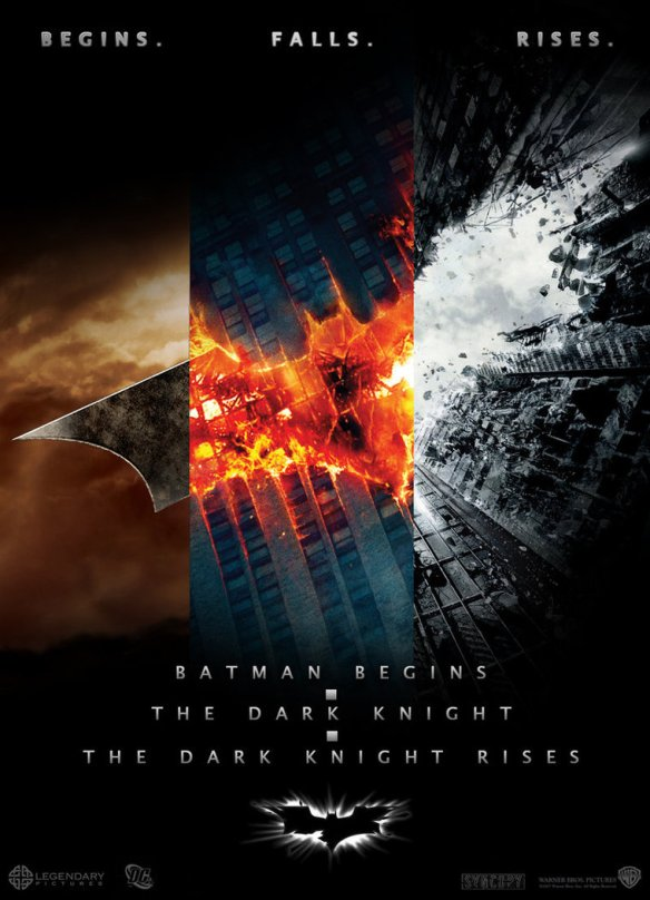 Batman-Trilogy-posters-combined