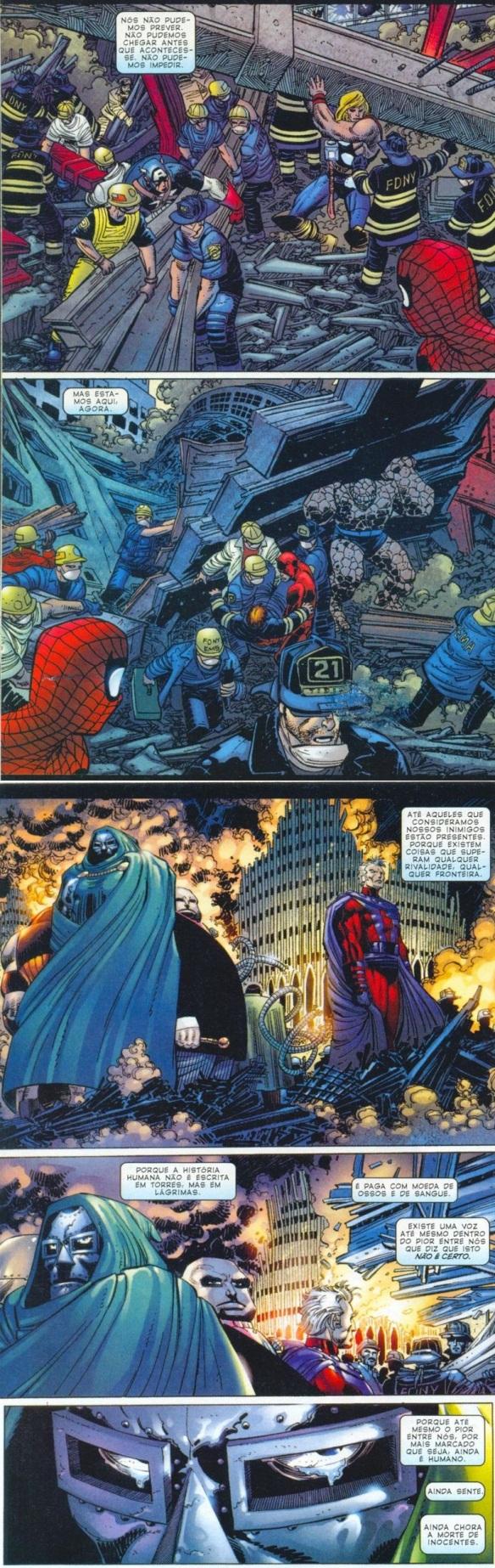 Spiderman - 11 de setembro Heróis e Inimigos