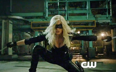 "Arrow -- ""Broken Dolls"" -- Pictured: Caity Lotz as Canary (Screengrab)"