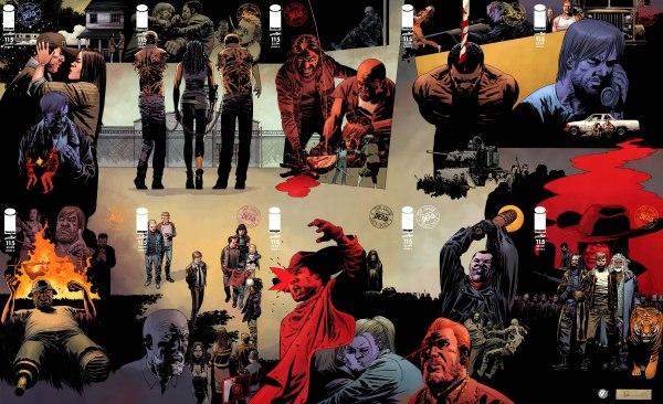 The Walking Dead 115 - Capas