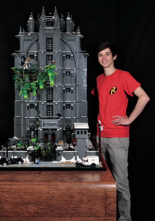 O Robin que ajudou a construir o Arkham