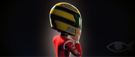 Tooned_50_Ayrton Senna
