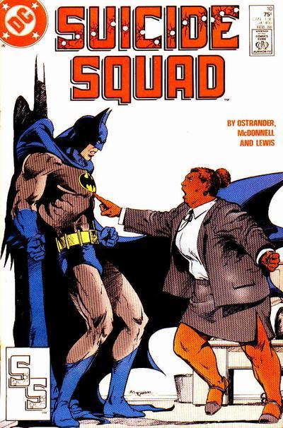 Waller vs Batman