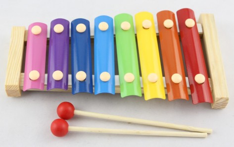 Wooden-Xylophone-with-Metal-Tones-Child-Toddlers-Musical-Toy-Instrument-Gift