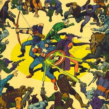 Formação clássica dos Vingadores com 3 ex-vilões
