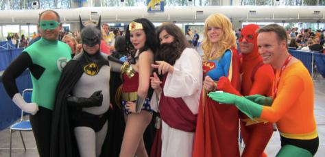 Não, não é essa! Esse é um cosplay que nem Jesus salva!