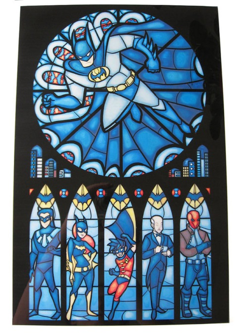 stained-glass-batman