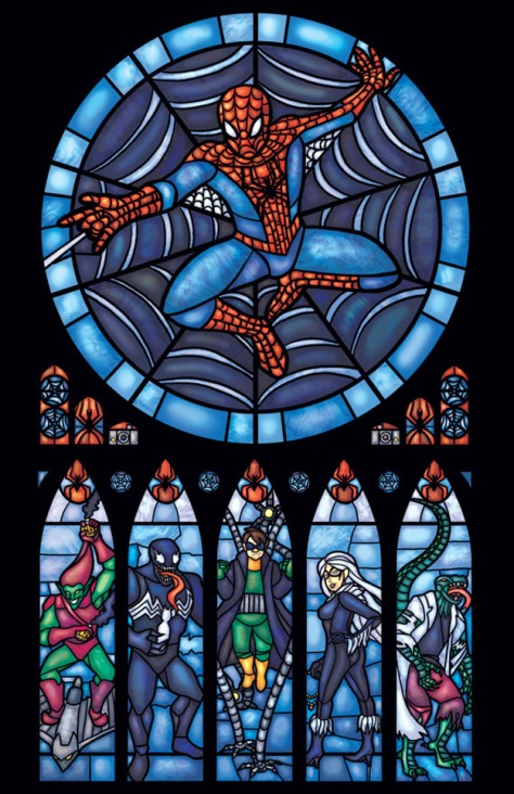 stained-glass-spiderman