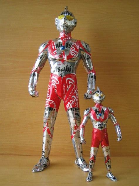 aluminum-ultraman