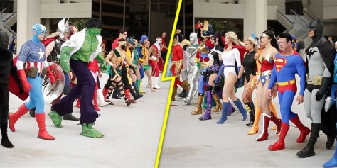 Distractotron-Marvel-vs-DC-Dragon-Con-2013
