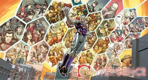 Arte de Convergence, Mega-saga da DC Comics para 2015