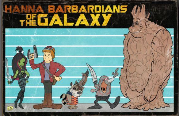 hanna barbadians of galaxy