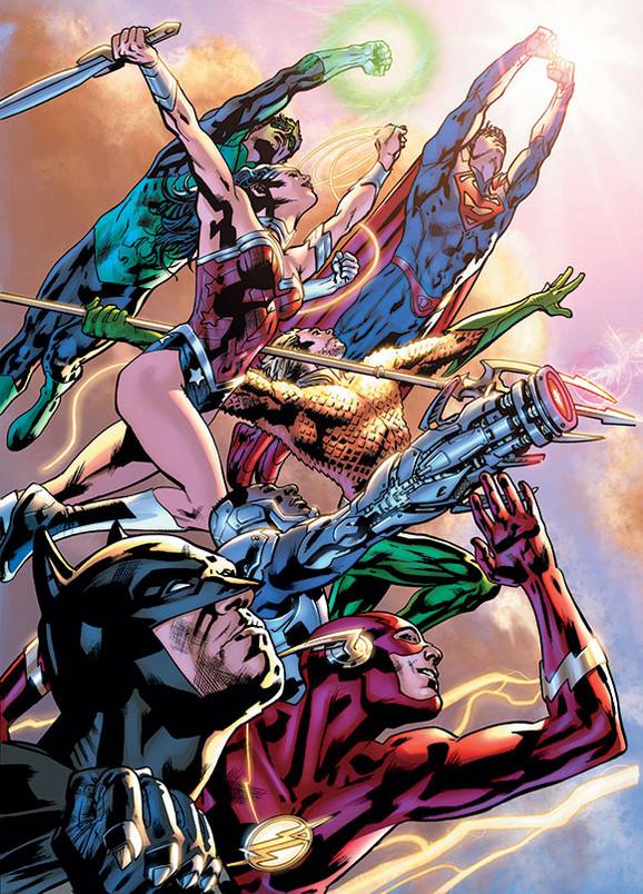 Justice League of America de Bryan Hitch